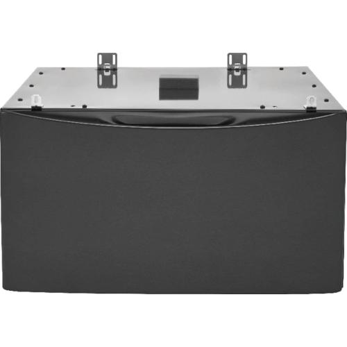 Luxury-Glide® Pedestal with Spacious Storage Drawer