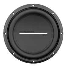 "GX 10"" High Performance Dual 4-Ohm Subwoofer"