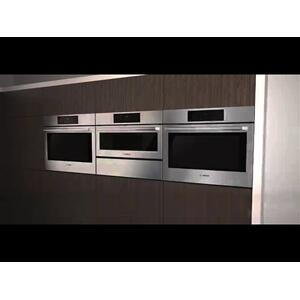 800 Series Double Wall Oven 30'' Stainless steel HBL8651UC