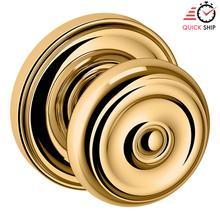 See Details - Lifetime Polished Brass 5020 Estate Knob with 5048 Rose