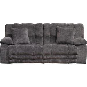 Branson Power Lay Flat Reclining Sofa w/ Extended Ottoman