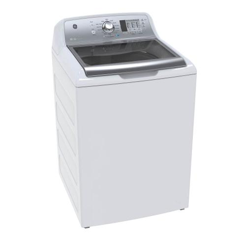 GE 5.3 Cu. Ft. Top Load Energy Star Electric Washer White - GTW680BMMWS