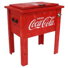View Product - Coca-Cola® Vintage Wooden Cooler