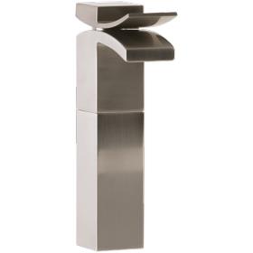 Quarto Vessel Lav Faucet Brushed Nickel