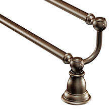 "Kingsley Oil rubbed bronze 24"" double towel bar"