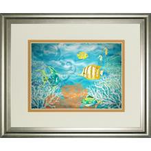 """Under The Sea"" By Julie Derice Framed Print Wall Art"
