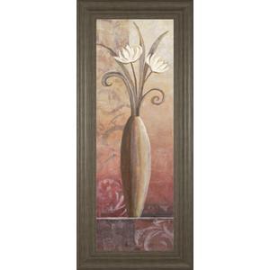 """""""Flower In Vase II"""" Framed Print Wall Art"""