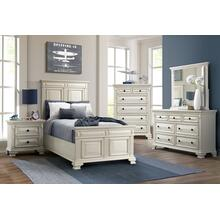 Calloway White Youth Bedroom