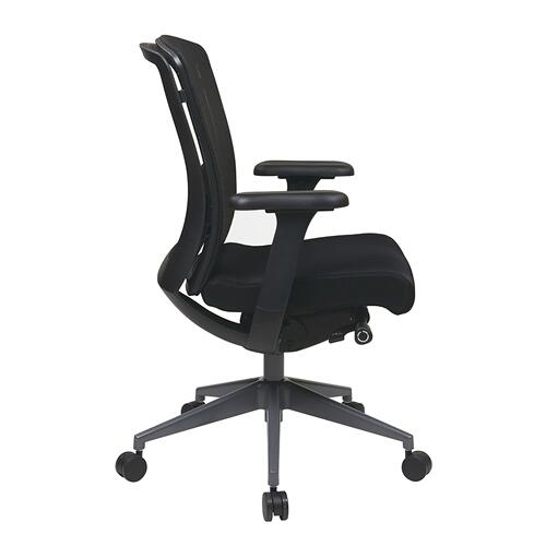 Executive Black Progrid® Back Chair
