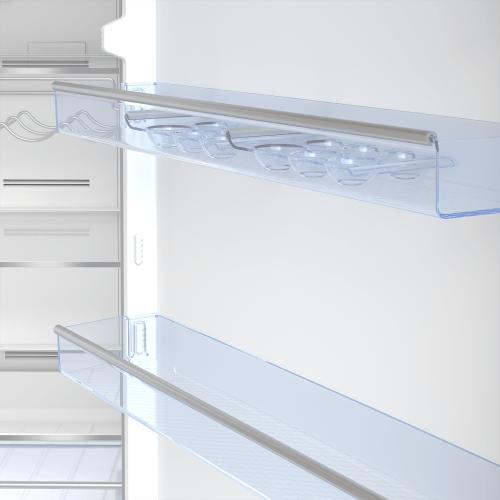 "27"" Freezer Bottom Stainless Steel Refrigerator"