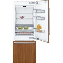 View Product - Benchmark® Built-in Bottom Freezer Refrigerator 30'' flat hinge B30IB905SP