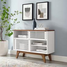 See Details - Render Display Stand in Walnut White