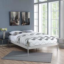 View Product - Elsie King Bed Frame in Gray
