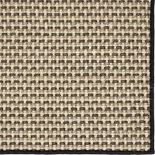 See Details - Basketweave Sisal Grey Tri Color 12'x15' / Leather Border