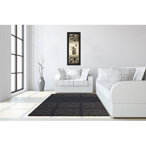 "Classy Art - ""Garden Shadow Il"" By Kimberly Poloson Framed Print Wall Art"