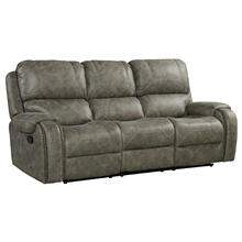See Details - Calvin Motion Sofa - Gray