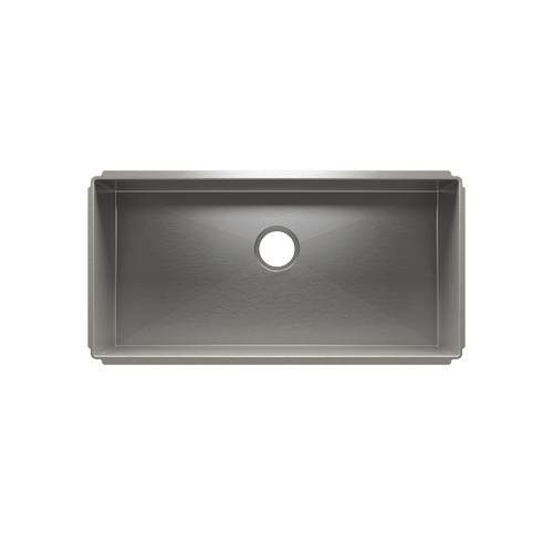 """J7® 003927 - undermount stainless steel Kitchen sink , 33"""" × 16"""" × 10"""""""