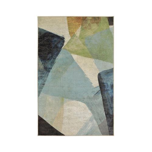 Mohawk - Transparent Rhythm, Medium Blue- Rectangle