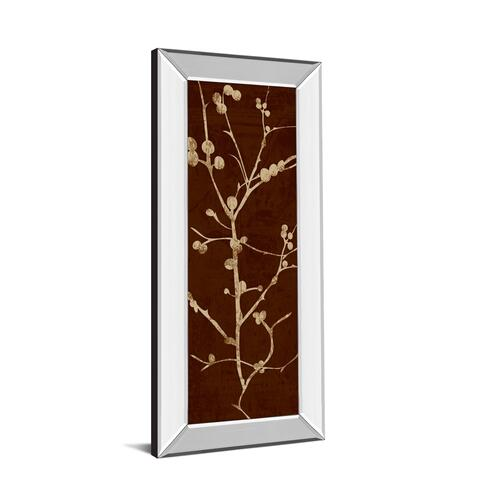 """Classy Art - """"Branching Out Il"""" By Diane Stimson Mirror Framed Print Wall Art"""