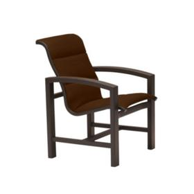 Lakeside Padded Sling Dining Chair