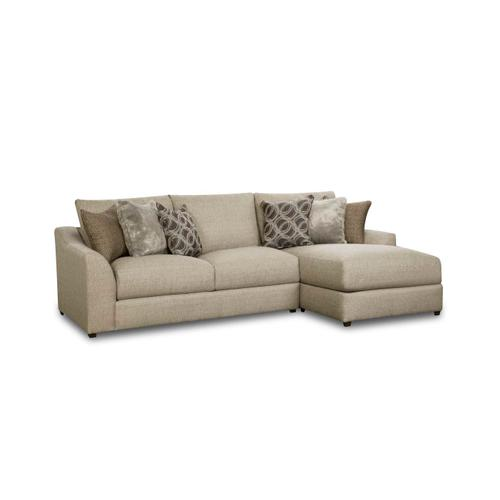 Gallery - 9915 Vivian Two Piece Sectional with Chaise