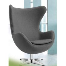 View Product - Egg Lounge Chair (Color:Grey)