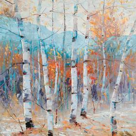 Still Morning 27x27 Canvas Mirr'ed Edges