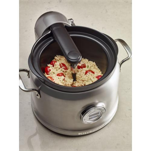 Stir Tower Multi-Cooker Accessory (Fits model KMC4241) - Contour Silver