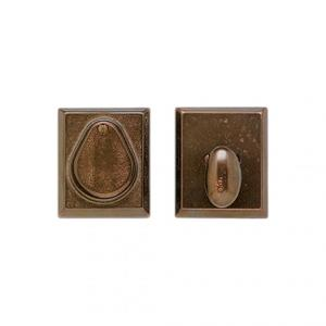 RECTANGULAR DEAD BOLT Silicon Bronze Brushed Product Image