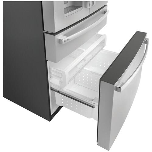 GE Profile™ 27.9 Cu. Ft. Smart 4-Door French-Door Refrigerator with Door In Door