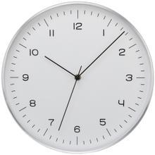 Silver Fine Line Clock