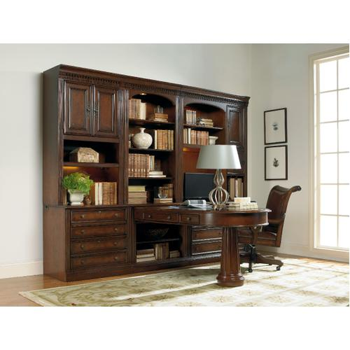 Product Image - European Renaissance II Peninsula Desk Complete