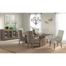 See Details - 5054 Urban Swag 5-Piece Urban Dining Set (with upholstered chairs)