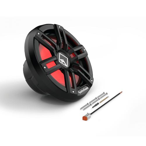 "Rockford Fosgate - M2 12"" DVC 2 Color Optix™ Infinite Baffle Marine Subwoofer - Black"