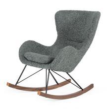 Modrest Ikard - Modern Grey Sheep Rocking Chair