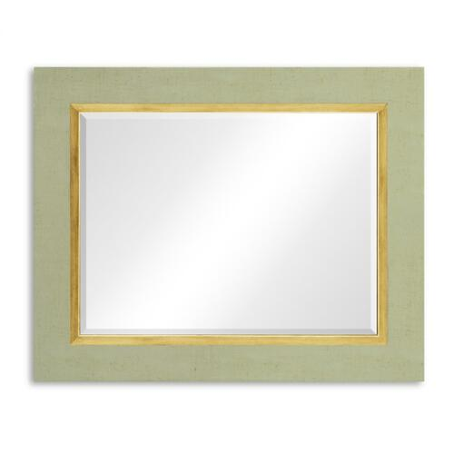 "Lichen & Gold ""Homespun"" Mirror"