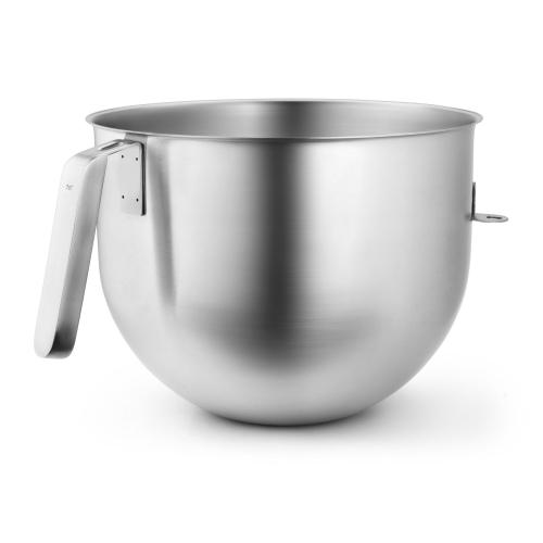 7 Quart NSF Certified Polished Stainless Steel Bowl with J Hook Handle - Other