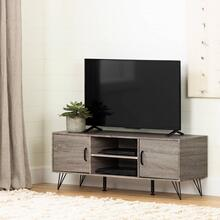 "TV Stand with Doors for TVs up to 55"" - Oak Camel"