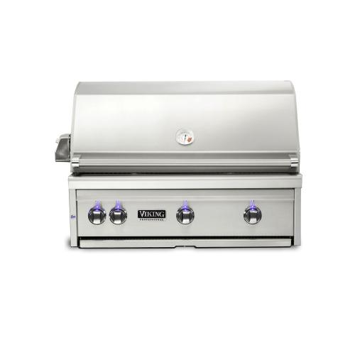 """Viking - 30""""W. Built-in Grill w ProSear Burner and Rotisserie, Natural Gas"""
