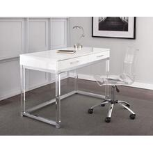Everett 2-Piece Acrylic Desk Set (Desk & Desk Chair)