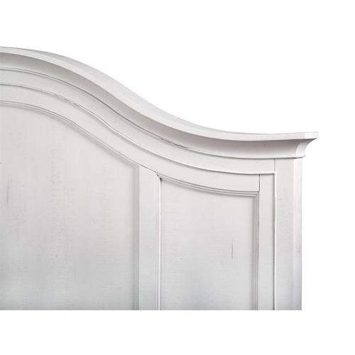 Complete King Arched Bed with Regular Rails