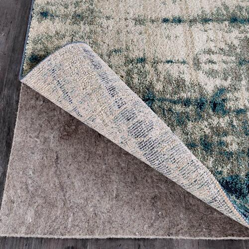 "Expressions Shibori Stripe Indigo 9' 6""x12' 11"""
