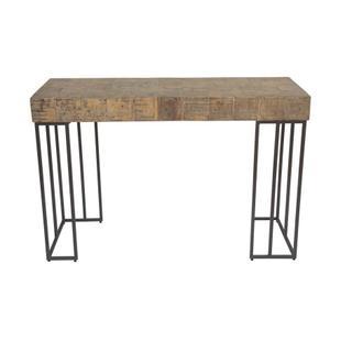 Crosscut Sofa Table