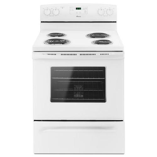 Amana® 30-inch Amana® Electric Range with Self Clean - White