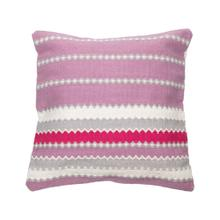 20x20 Hand Woven Orchid Pillow