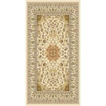 "Persian Design 1 Million Point Heatset Monalisa 5016 Area Rugs by Rug Factory Plus - 2' x 7'5"" / Ivory"