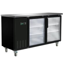 MXBB70G Back Bar Coolers, Glass Door