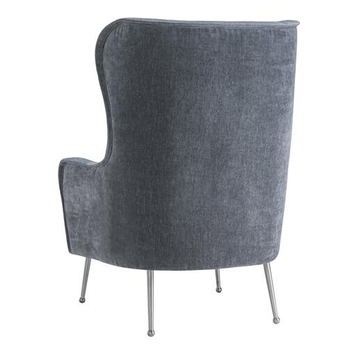 Ethan Grey Velvet Chair