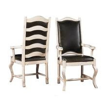 See Details - Tall Napa Ladderback Chair with Upholstered Back