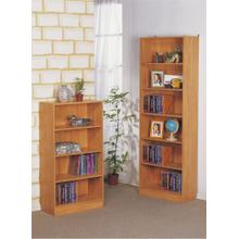 4-tier Bookcase, Natural